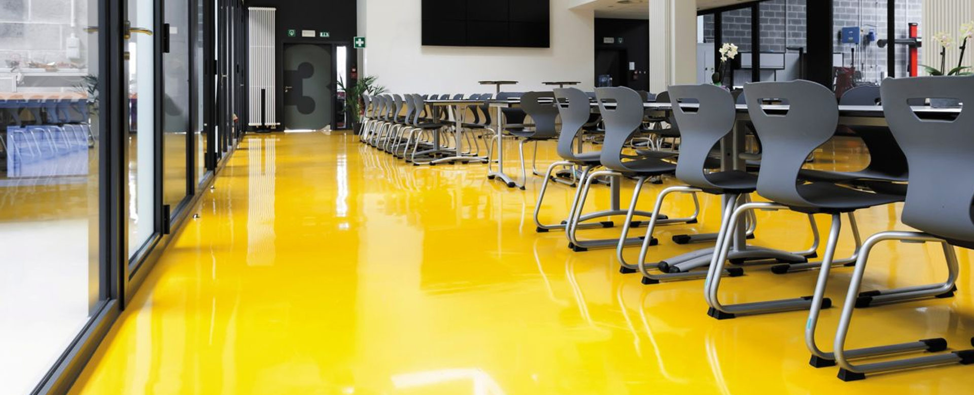 Custom Color Design Epoxy Floor Coating